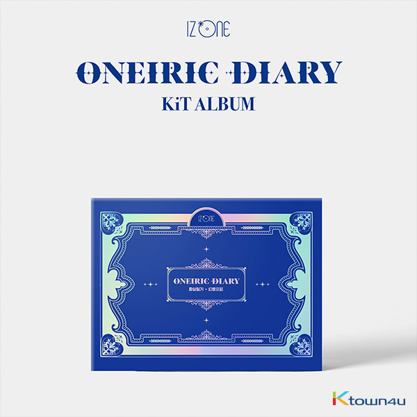 [IZ*ONE ALBUM] IZ*ONE - Mini Album Vol.3 [Oneiric Diary] (Kit Album) *Due to the built-in battery of the Khino album, only 1 item could be ordered and shipped at a time.