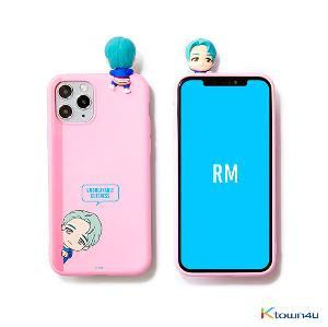BTS- BTS Character Figure Color Jelly Case_Peek-a-boo (RM)