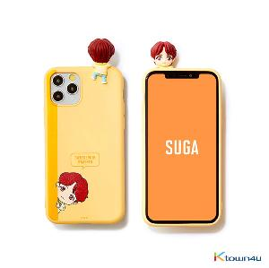 BTS- BTS Character Figure Color Jelly Case_Peek-a-boo (SUGA)