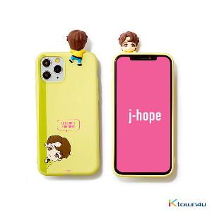 BTS- BTS Character Figure Color Jelly Case_Peek-a-boo (J-HOPE)