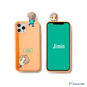 BTS- BTS Character Figure Color Jelly Case_Peek-a-boo (JIMIN)