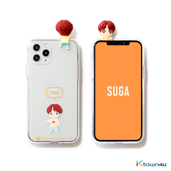 BTS- BTS Character Figure  Jelly Case_Ballon (SUGA)