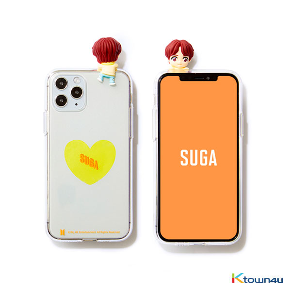 BTS- BTS Character Figure Jelly Case_Heart (SUGA)