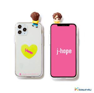 BTS- BTS Character Figure Jelly Case_Heart (J-HOPE)