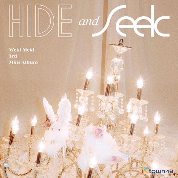 [@stanyoojung] Weki Meki - Mini Album Vol.3 [HIDE and SEEK] (SEEK Ver.) + Poster *Ktown4u Pre-order benefit : Unrevealed Photocard 1set