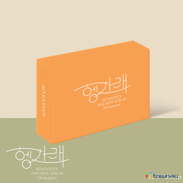 Seventeen - Mini Album Vol.7 [Heng : garae] (Kit Album) *Due to the built-in battery of the Khino album, only 1 item could be ordered and shipped at a time.