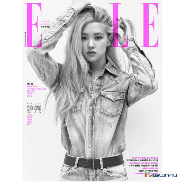 [@TeamBlackPink] ELLE 2020.07 (Cover : Rose / Content : Chenle & Jisung)