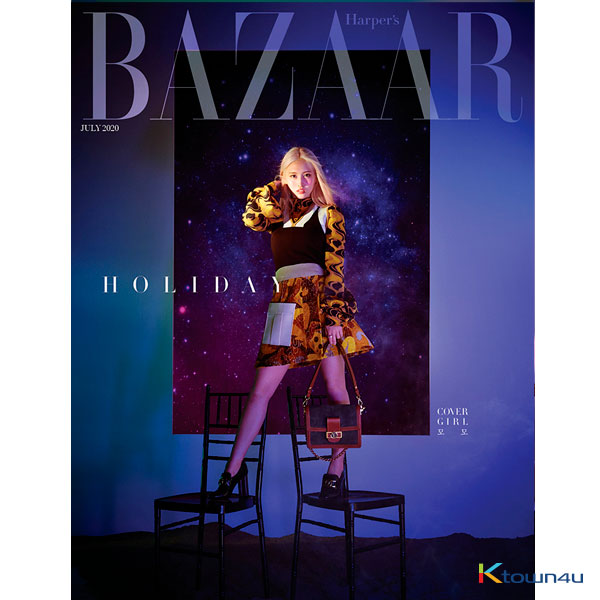 [@TWICEMalaysiaFC] HARPER`S BAZAAR 2020.07 (MOMO) *Cover Poster gift 1p