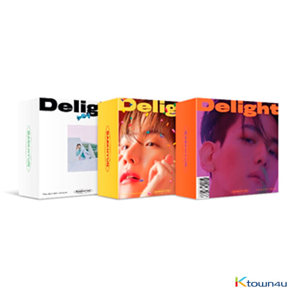BAEK HYUN - Mini Album Vol.2 [Delight] (Kit Ver.) by @baekhyun_charts @BBHGlobalUnion