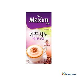 Maxim Cafe Cappuccino Hazelnut Coffee 13g*10EA