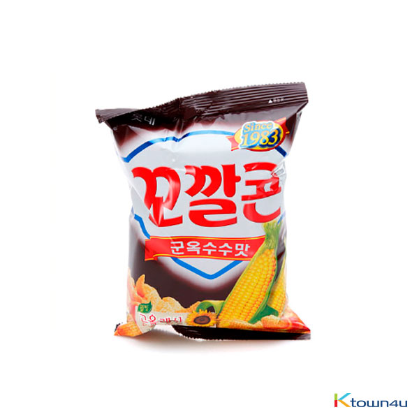 [LOTTE] Popping Corn Chips - Grilled Corn 72g*1EA