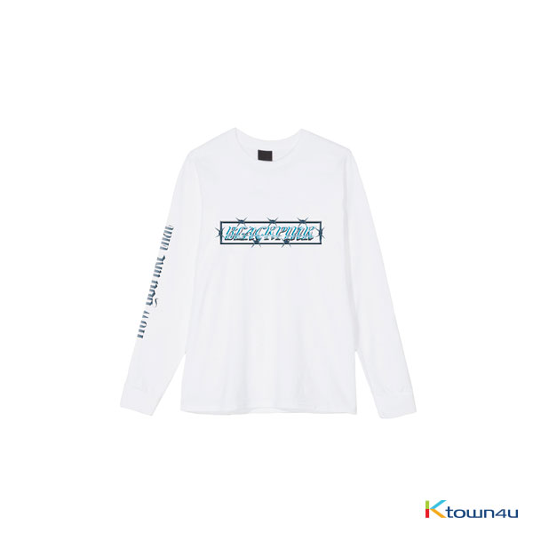 [H.Y.L.T] BLACKPINK - LONG SLEEVE T-SHIRTS WHITE