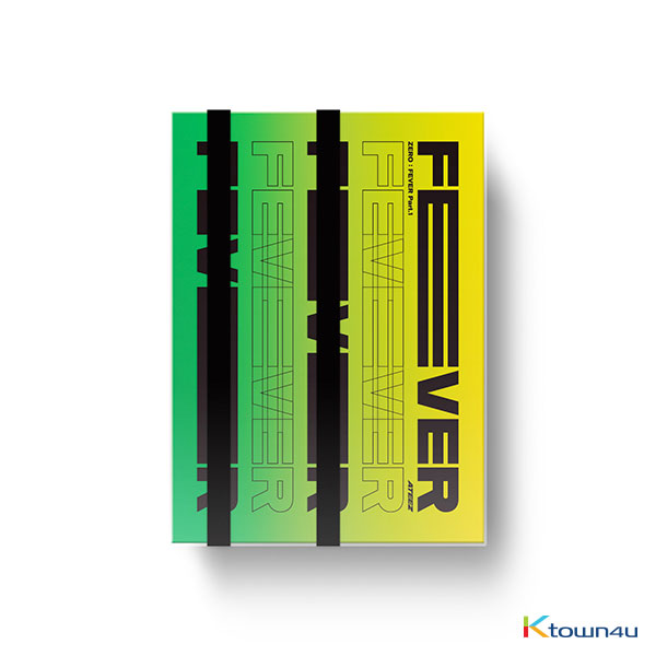 [ATINY INDONESIA] ATEEZ - Mini Album Vol.5 [ZERO : FEVER Part.1]  *Ktown4u pre-order benefit is inlcuded