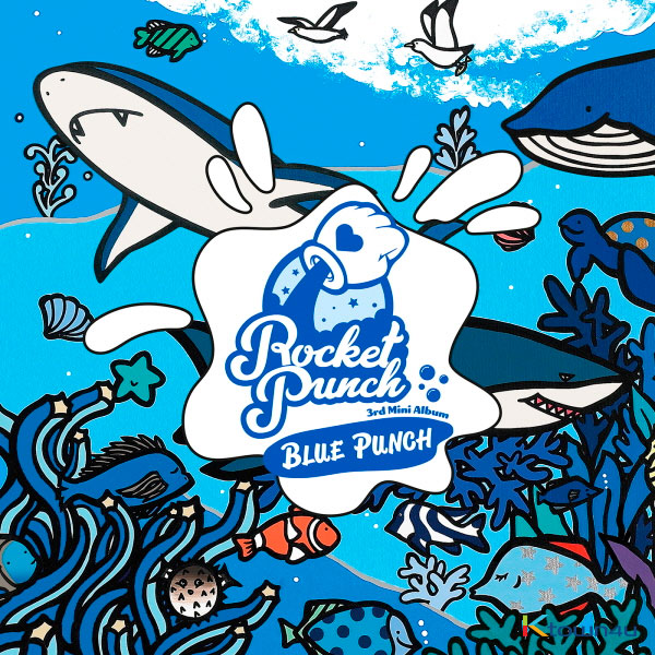 ROCKET PUNCH - Mini Album Vol.3 [BLUE PUNCH]