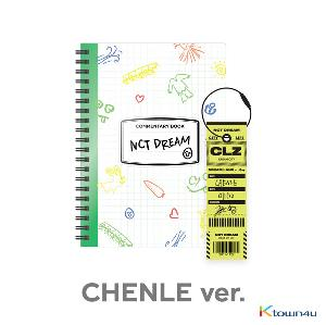 NCT DREAM - [CHENLE] NCT LIFE : DREAM in Wonderland Commentary Book + Luggage Tag SET
