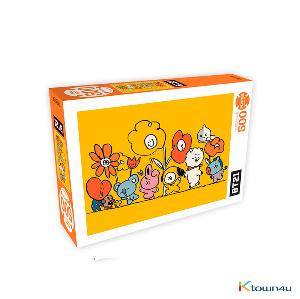 [BT21] 500piece Jigsaw Puzzle Flower