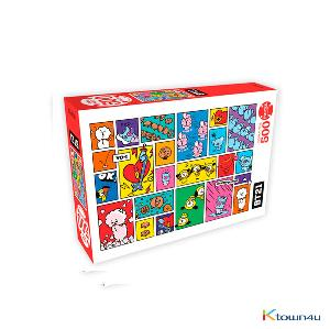 [BT21] 500piece Jigsaw Puzzle Focus On Me