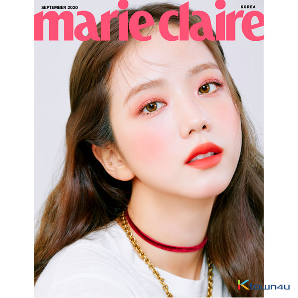 Marie claire 2020.09 B Type (BLACKPINK : JISOO)