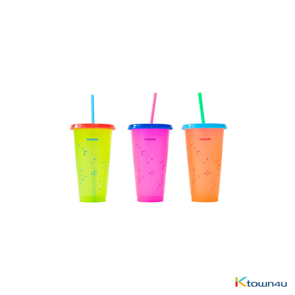 [TREASUREMAP] TREASURE - TREASURE REUSABLE TUMBLER SET