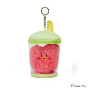 [BT21] lineFriends BT21 TATA BABY Buckle Bubble Tea Back Cham