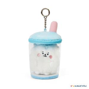 [BT21] lineFriends BT21 RJ BABY Buckle Bubble Tea Back Cham