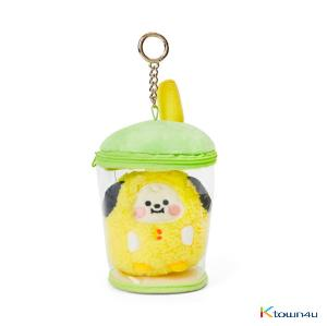 [BT21] lineFriends BT21 CHIMMY BABY Buckle Bubble Tea Back Cham