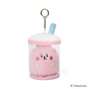 [BT21] lineFriends BT21 COOKY BABY Buckle Bubble Tea Back Cham
