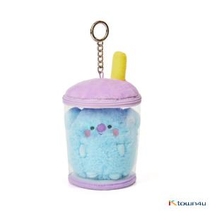 [BT21] lineFriends BT21 KOYA BABY Buckle Bubble Tea Back Cham