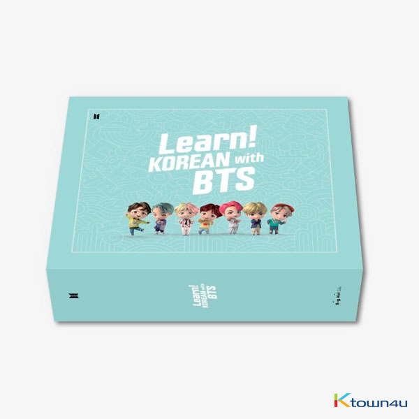 [@CHARTS_K] BTS - Learn! KOREAN with BTS Book Package *Pre-order benefit gift : Study note 1p gift