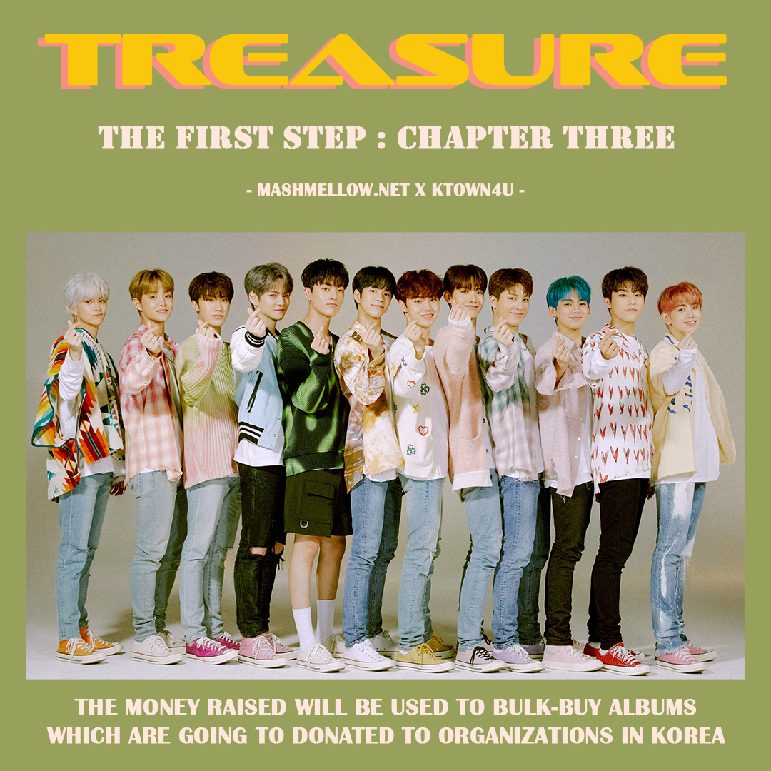[COM전용기부] [Donation] TREASURE New Album Fanclub Event by mashmellow.net
