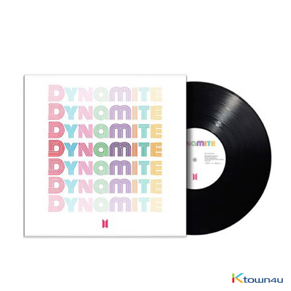 [@JeonJungkook_BR] BTS - DYNAMITE - LIMITED EDITION 7 Vinyl (February Shipping) (*Order can be canceled cause of early out of stock)