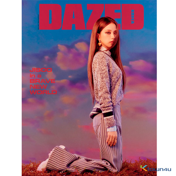 Dazed & Confused Korea 2020 Special Edition B Type Vol.155 (Front Cover : Jisoo / Back Cover : Random)