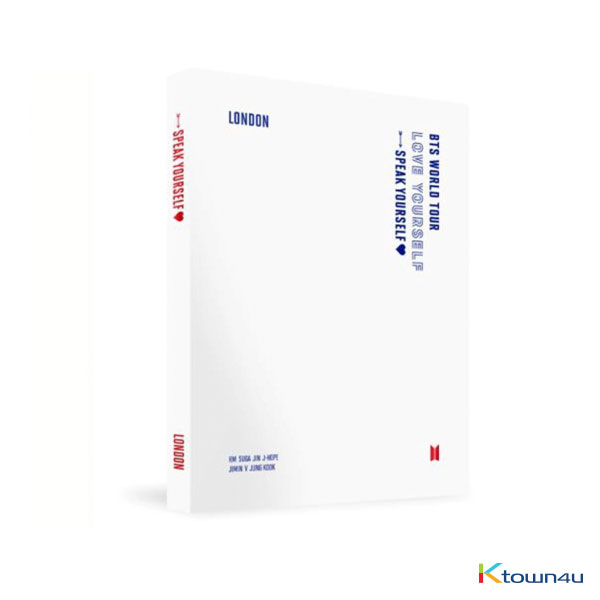 [Blu-Ray] BTS - WORLD TOUR [LOVE YOURSELF : SPEAK YOURSELF] LONDON BLU-RAY (*Order can be canceled cause of early out of stock)