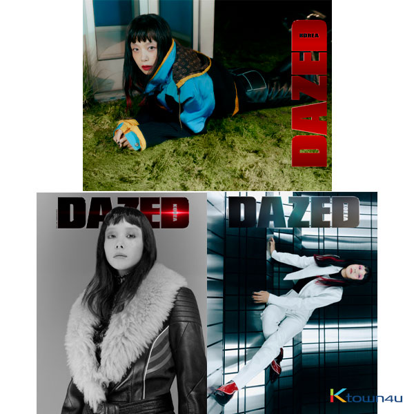 Dazed & Confused Korea 2020.10 (Content : MONSTA X, Red Velvet, UP10TION) *Random 1p out of 3p