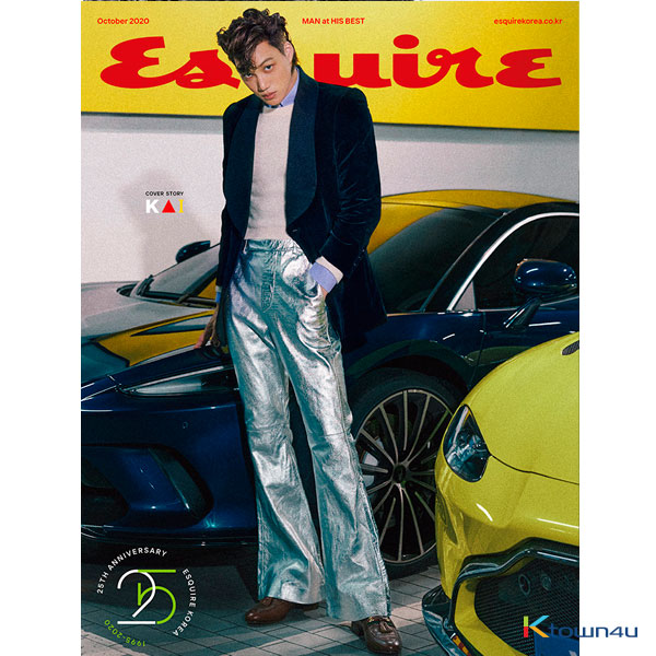 ESQUIRE 2020.10 B Type  (Cover : KAI, Content 8p : Ha Sung Woon)