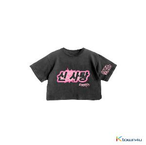 [SOURCANDY] BLACKPINK - BLACKPINK X LADYGAGA CROPPED T-SHIRTS