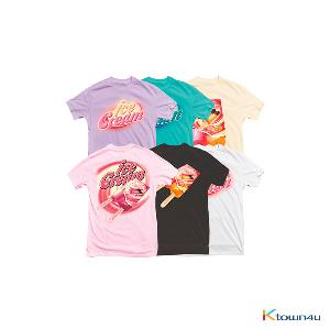 [ICECREAM] BLACKPINK - ICECREAM T-SHIRTS_TYPE 1