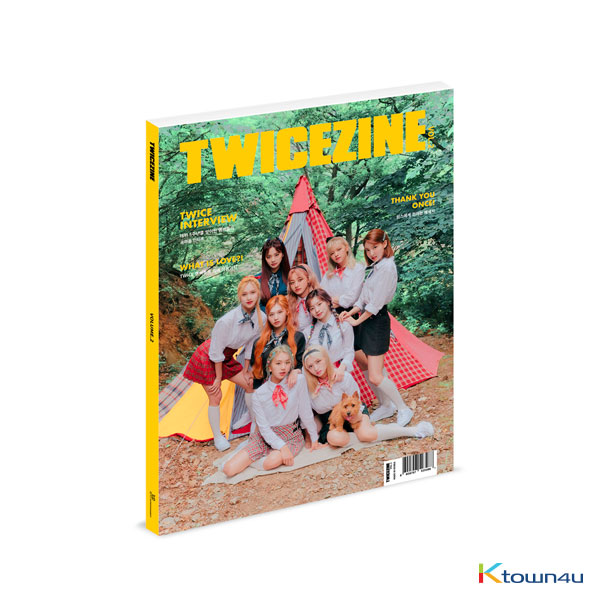 [TWICE India][Photobook] TWICE - TWICEZINE VOL.2