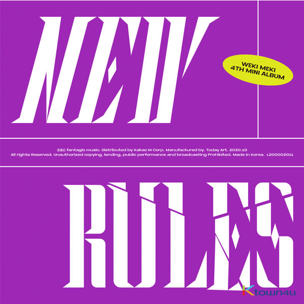 Weki Meki - Mini Album Vol.4 [NEW RULES] (Break ver.)