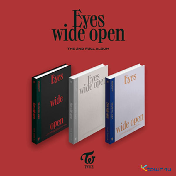 [@TEAM_TWICE] TWICE - Album Vol.2 [Eyes wide open] (Style Ver.)
