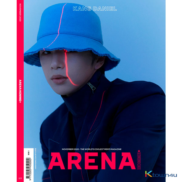 ARENA HOMME+ 202011 B Type (Cover : Kang Daniel)