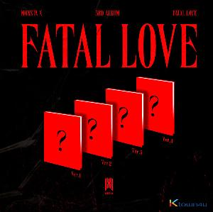 [SET][4CD SET] MONSTA X - Album Vol.3 [FATAL LOVE] (Ver.1 + Ver.2 + Ver.3 + Ver.4)