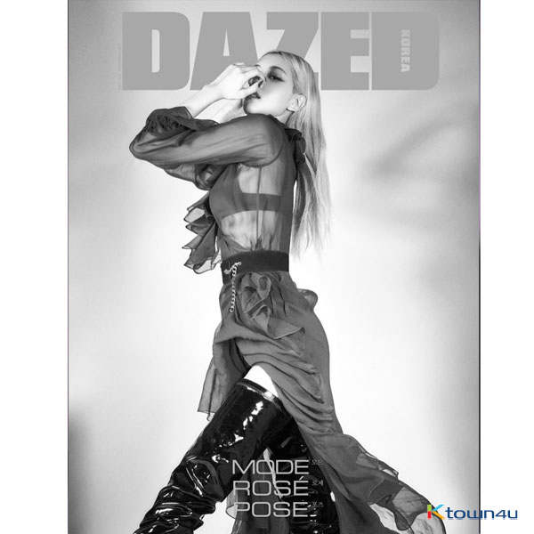Dazed & Confused Korea 2020.11 C Type (Front Cover : Rose / Content : Chanyeol)
