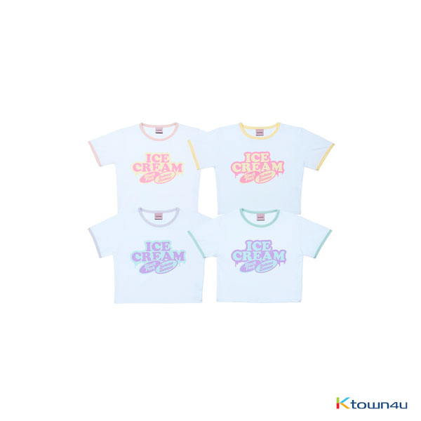 [ICECREAM] BLACKPINK - CROPPED T-SHIRTS