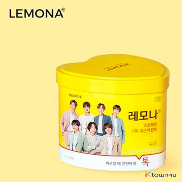 [BTS GOODS] BTS - Lemona 2nd LIMITED EDITION 2g*60ea (Random 1p out of 8p)