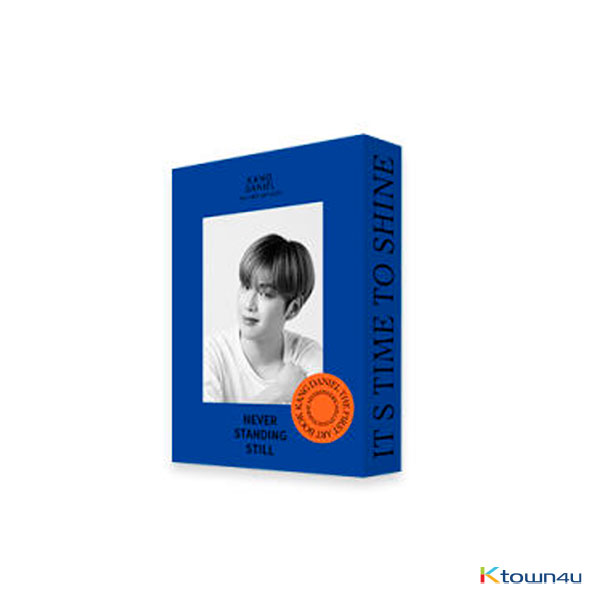 KANGDANIEL - 1ST ARTBOOK [NEVER STADING STILL] (INNOCENT Ver.)