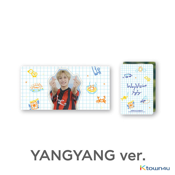 [WayVision] WayV_YANGYANG Flipbook + Photo card SET