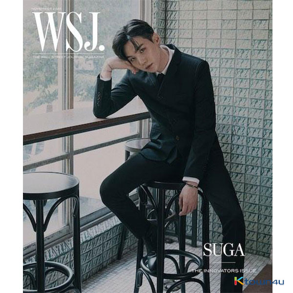 The Wall Street Journal USA 2020.11 (Cover : BTS SUGA)