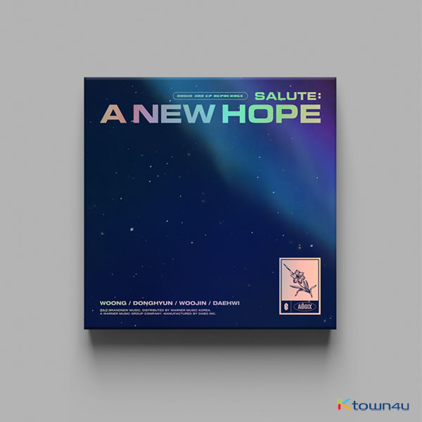 AB6IX - 3RD EP REPACKAGE Album [SALUTE : A NEW HOPE] (NEW Ver.)