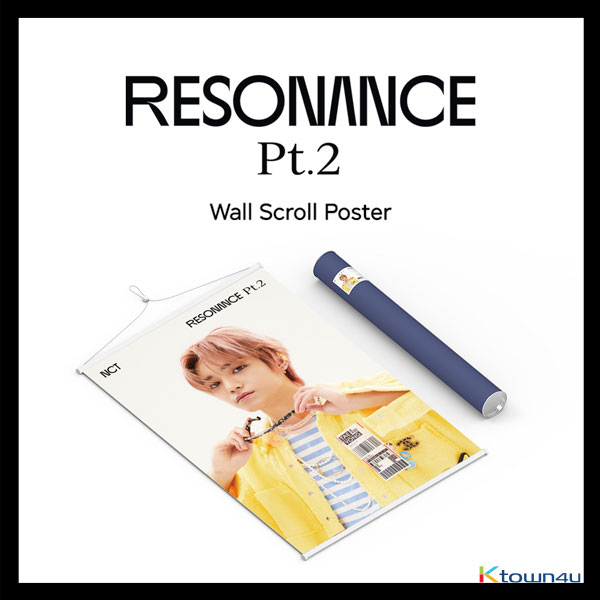 NCT - Wall Scroll Poster (TaeYong RESONANCE Pt.2 ver) (Limited Edition)